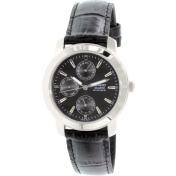 Casio Men's Core MTP1192E-1A Black Leather Quartz Watch