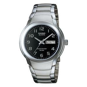 Casio Men's Core MTP1229D-1AV Silver Stainless-Steel Quartz Watch