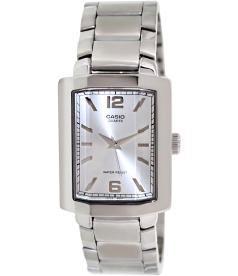 Casio Men's Core MTP1233D-7A Silver Stainless-Steel Analog Quartz Watch
