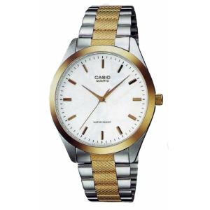 Casio Men's Core MTP1274SG-7A White Stainless-Steel Quartz Watch