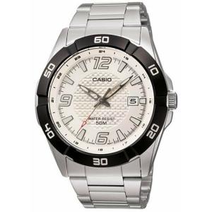 Casio Men's Core MTP1292D-7AV Silver Stainless-Steel Quartz Watch