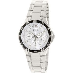 Casio Men's Core MTP1300D-7A1V Silver Stainless-Steel Quartz Watch