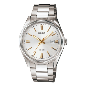 Casio Men's Core MTP1302D-7A2V Silver Stainless-Steel Quartz Watch
