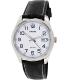 Casio Men's Core MTP1302L-7BV Black Leather Quartz Watch - Main Image Swatch