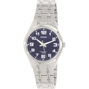 Casio Men's MTP1310D-2BV Silver Stainless-Steel Quartz Watch