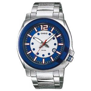 Casio Men's Core MTP1317D-2AV Silver Stainless-Steel Quartz Watch