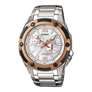 Casio Men's Core MTP1326D-7AV Silver Stainless-Steel Quartz Watch
