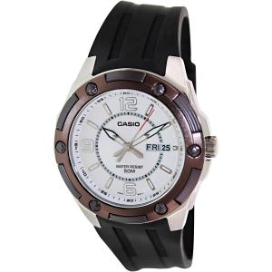 Casio Men's Core MTP1327-7A2V Black Resin Quartz Watch