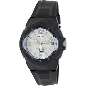 Casio Men's Core MW600F-7AV Black Resin Analog Quartz Watch