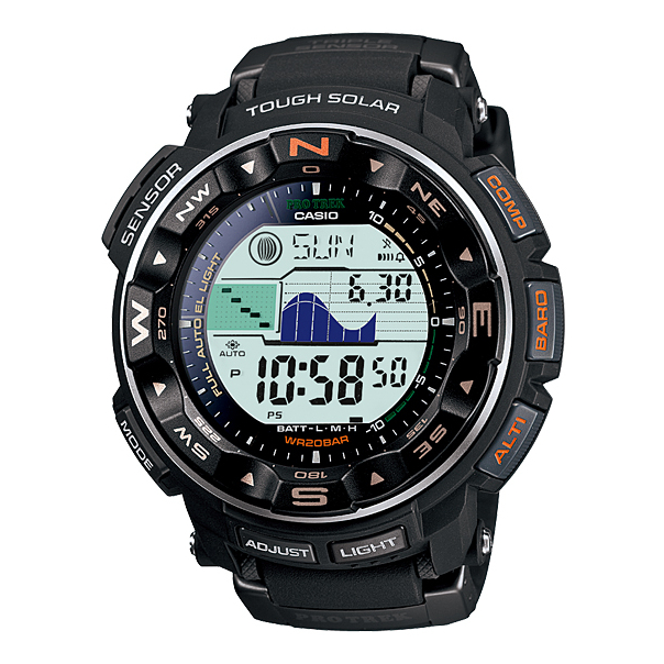 Casio Men's PRG250-1B Digital Resin Quartz Watch