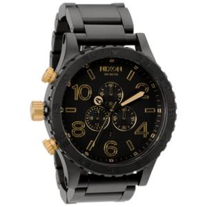 Nixon Men's 51-30 A0831041 Black Stainless-Steel Analog Quartz Watch