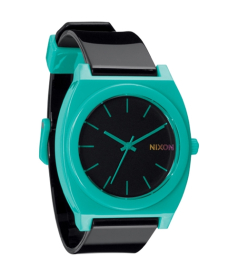 Nixon Men's Time Teller A1191060 Black Polyurethane Analog Quartz Watch