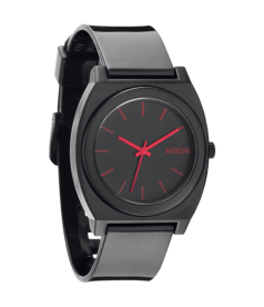 Nixon Men's Time Teller A119480 Black Plastic Analog Quartz Watch