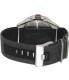 Nixon Men's Corporal A243100 Grey Cloth Analog Quartz Watch - Back Image Swatch