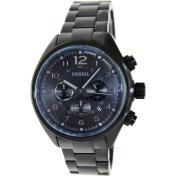 Fossil Men's Flight CH2803 Black Stainless-Steel Analog Quartz Watch