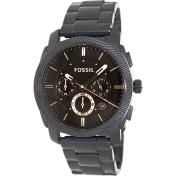 Fossil Men's Machine FS4682 Black Stainless-Steel Quartz Watch
