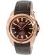 Bulova Men's Precisionist 97B110 Brown Calf Skin Quartz Watch - Main Image Swatch