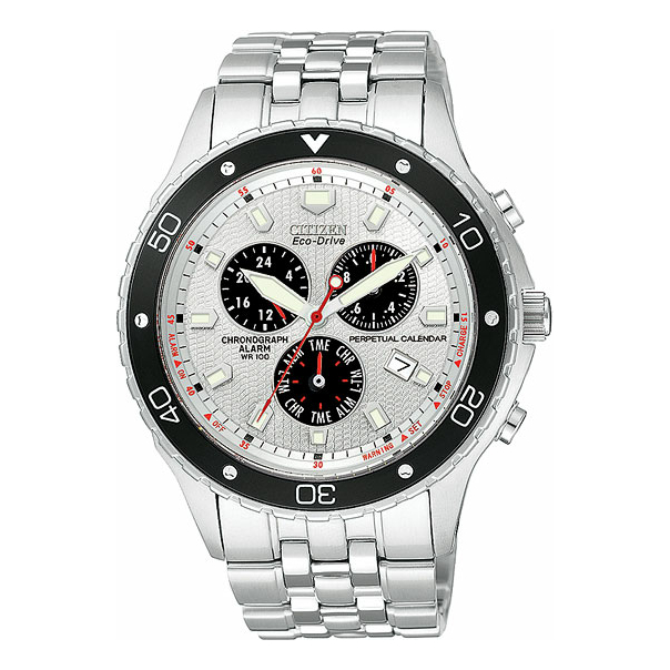 Citizen Men's Eco-Drive BL5290-59A Silver Stainless-Steel Eco-Drive Watch