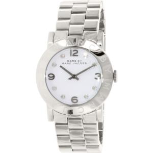 Marc by Marc Jacobs Women's Amy Bracelet MBM3054 Silver Stainless-Steel Quartz Watch