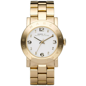 Marc by Marc Jacobs Women's MBM3056 Gold Stainless-Steel Quartz Watch