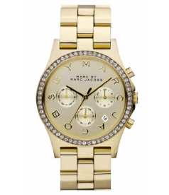 Marc by Marc Women's MBM3105 Gold Stainless-Steel Quartz Watch