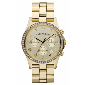 Marc by Marc Jacobs Women's Henry Chrono MBM3105 Gold Stainless-Steel Quartz Watch