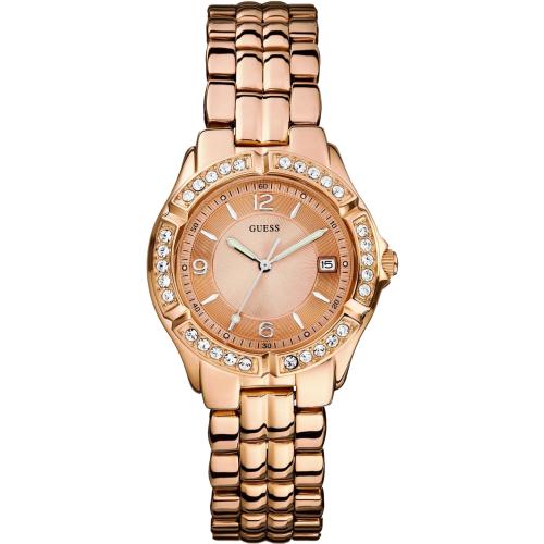 Guess Women's U11069L1 Rose-Gold Stainless-Steel Quartz Watch