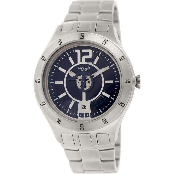 Swatch Men's Irony YTS404G Blue Stainless-Steel Quartz Watch