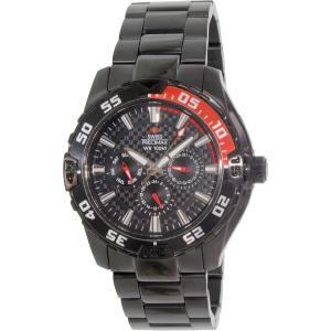Swiss Precimax Men's Formula-7 XT SP12050 Black Stainless-Steel Swiss Multifunction Watch