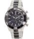 Swiss Precimax Men's Valor Elite SP12056 Silver/Black Stainless-Steel Swiss Chronograph Watch - Main Image Swatch