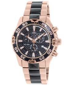Swiss Precimax Men's Formula-7 Pro SP12063 Black Stainless-Steel Swiss Chronograph Watch