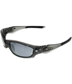 Oakley Men's Gradient Straight Jacket 04-327 Grey Rectangle Sunglasses