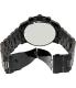 Michael Kors Men's Runway MK8157 Black Stainless-Steel Quartz Watch - Back Image Swatch