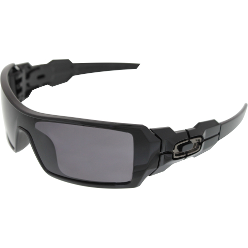 4fcd59dd671b ... UPC 700285232850 product image for Oakley Men s Gradient New Oil Rig  03-460 Black Shield