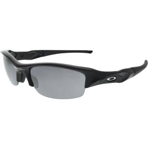 oakley men 39 s gradient flak jacket 03 881 black wrap sunglasses. Black Bedroom Furniture Sets. Home Design Ideas