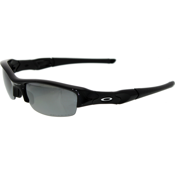 oakley men 39 s polarized flak jacket 12 900 black wrap sunglasses. Black Bedroom Furniture Sets. Home Design Ideas