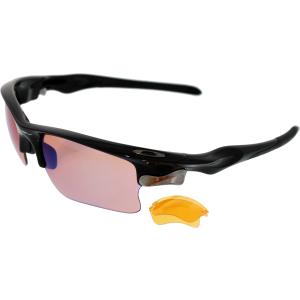 oakley men 39 s interchangeable fast jacket xl oo9156 03 black semi rimless sunglasses. Black Bedroom Furniture Sets. Home Design Ideas