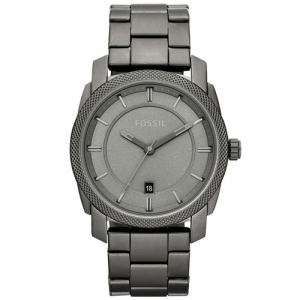 Fossil Men's Machine FS4705 Grey Stainless-Steel Analog Quartz Watch