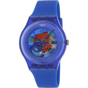 Swatch Women's Originals SUON101 Blue Plastic Quartz Watch