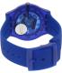 Swatch Women's Originals SUON101 Blue Plastic Quartz Watch - Back Image Swatch
