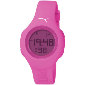 Puma Women's Active PU910912008 Pink Polyurethane Quartz Watch