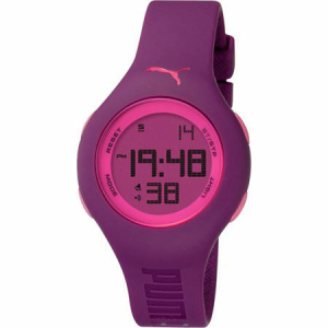 Puma Women's Active PU910912010 Purple Polyurethane Quartz Watch