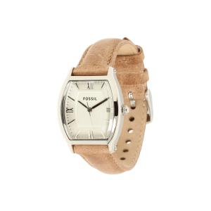Fossil Women's Wallace ES3055 Silver Calf Skin Analog Quartz Watch