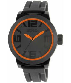 Kenneth Cole Reaction Men's Reaction RK1236 Black Silicone Analog Quartz Watch