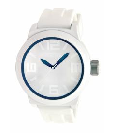Kenneth Cole Reaction Men's Reaction RK1243 White Silicone Analog Quartz Watch
