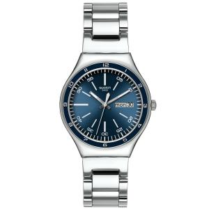 Swatch Men's Irony YGS751G Blue Stainless-Steel Quartz Watch