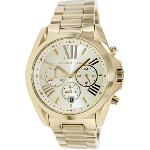 Michael Kors Women's MK5605 Gold Stainless-Steel Quartz Watch