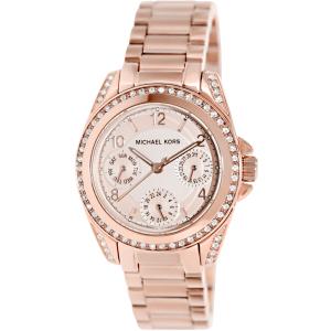 Michael Kors Women's Blair MK5613 Rose-Gold Stainless-Steel Quartz Watch