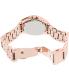 Michael Kors Women's Blair MK5613 Rose-Gold Stainless-Steel Quartz Watch - Back Image Swatch