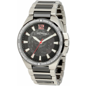 Ed Hardy Men's Hampton HM-BK Black Stainless-Steel Analog Quartz Watch